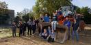 Fast 500m Zaun - gebaut von Schülern, Eltern und Lehrern!_9